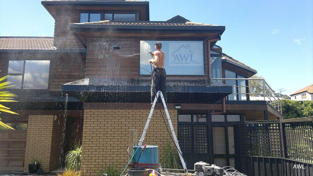 Water Blasting House